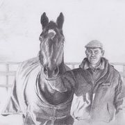 Art 'Man and Horse'
