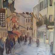 Art 'The Claddagh Galway'