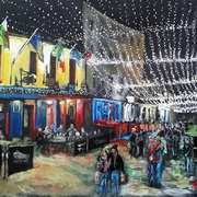 Art 'The Quays at Christmas'