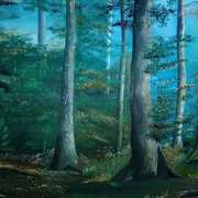 Art 'Irish Forest'